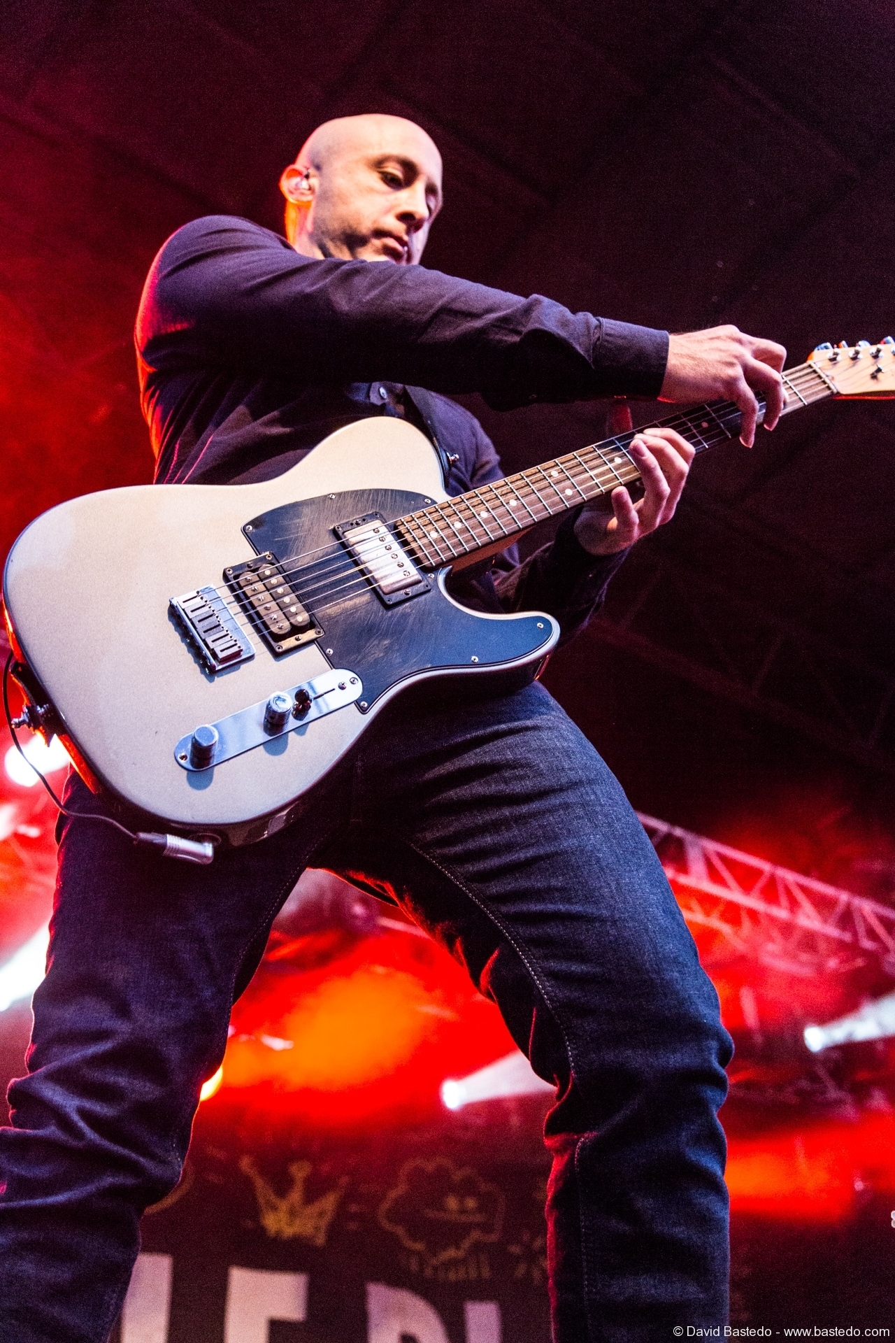 Jeff Stinco - Simple Plan - 2015