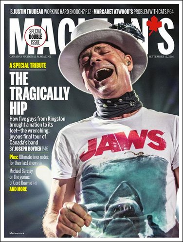MacLean's Cover - September 12, 2016